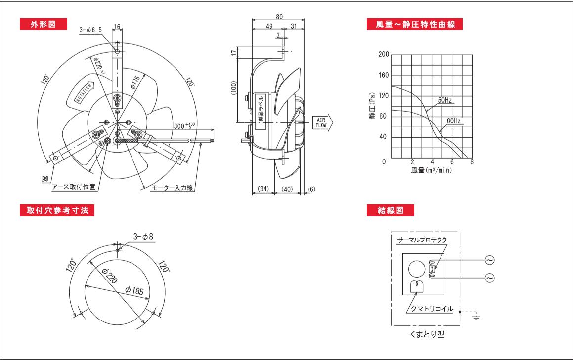 175P09X-TPシリーズ図面