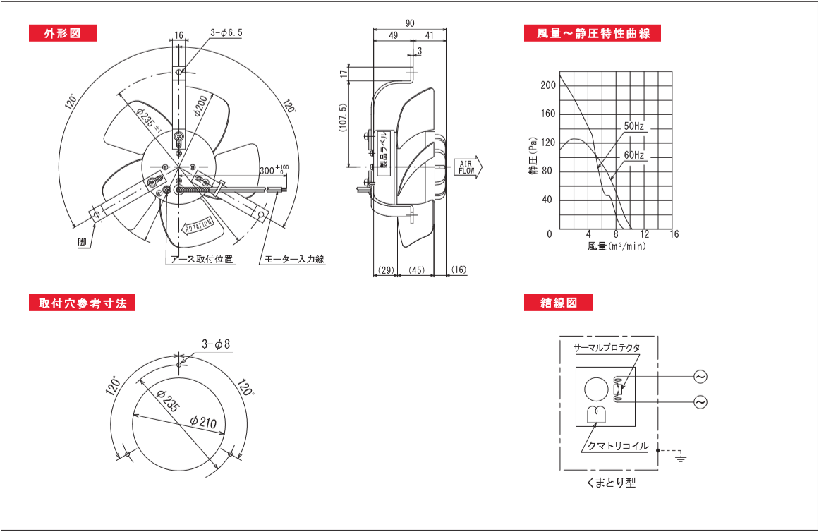 200P09-TPシリーズ図面