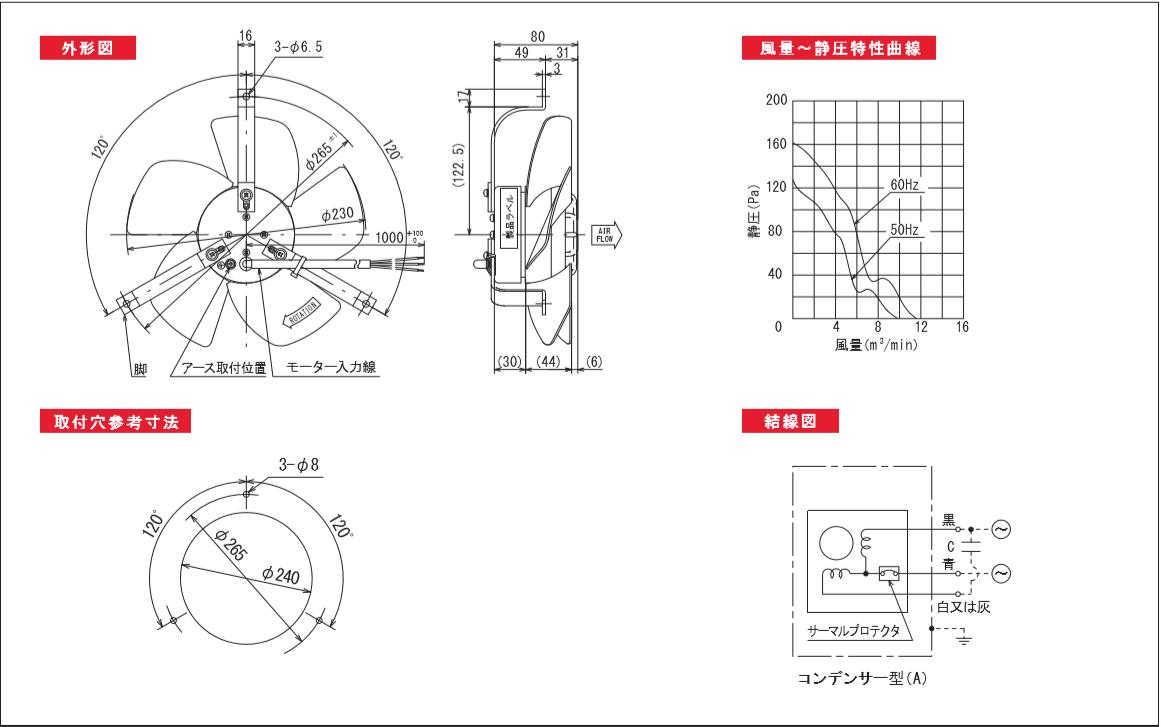 230P04-2TPシリーズ図面