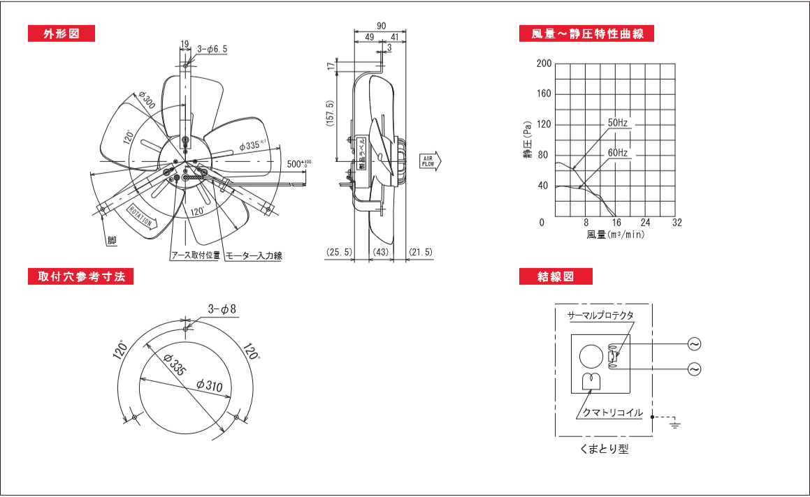 300P049-TPシリーズ図面