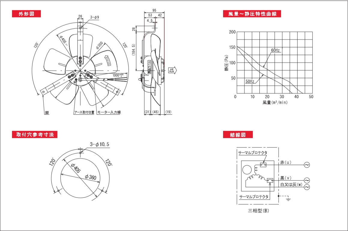350P549-3TPシリーズ図面