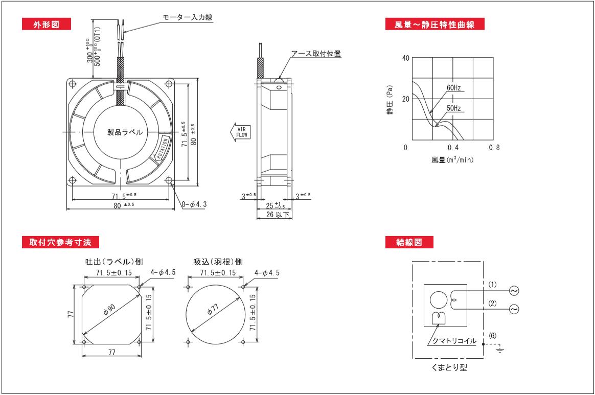 9301シリーズ図面