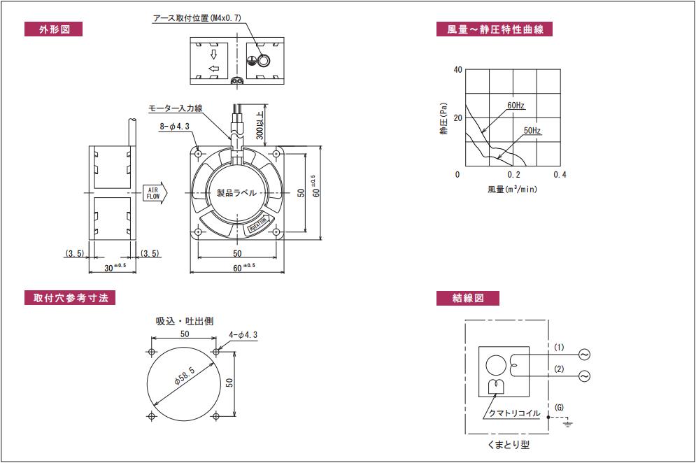 AP060030シリーズ図面