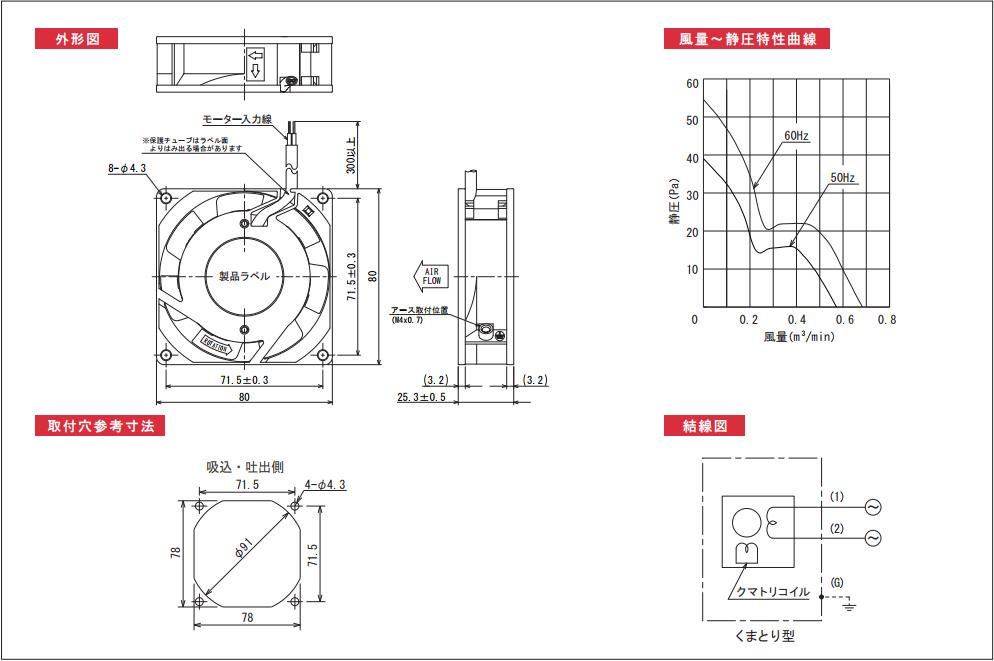 AP080025シリーズ図面