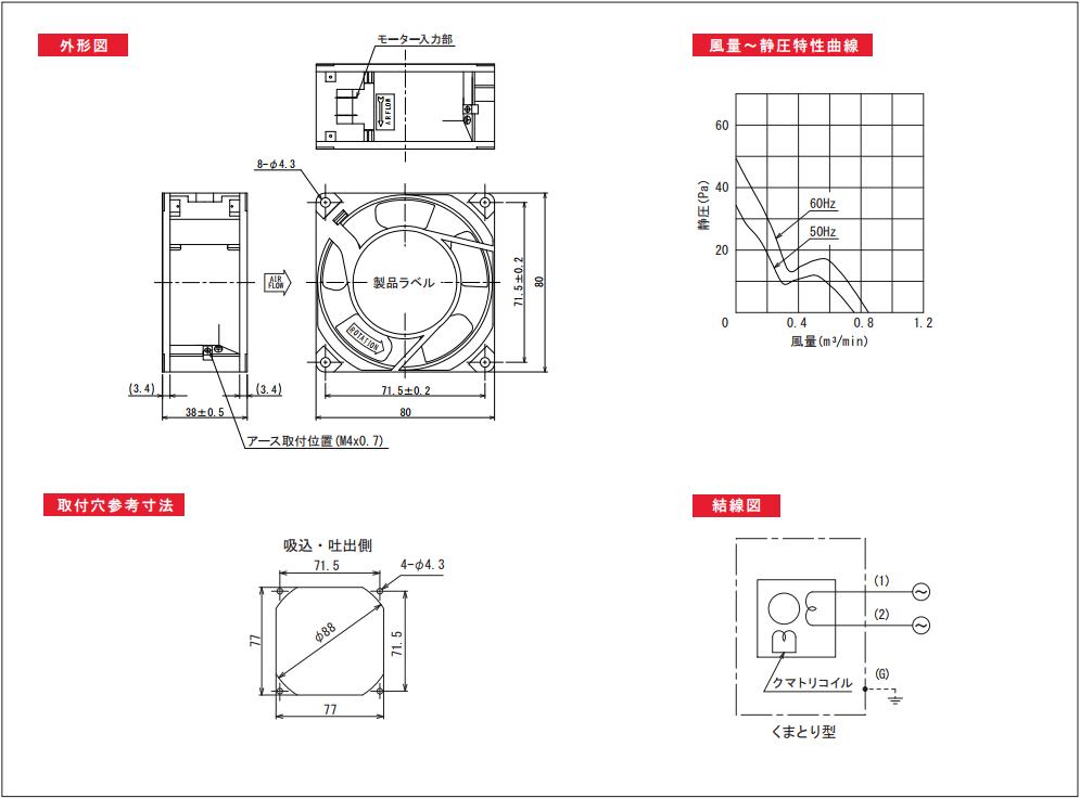 AP080038シリーズ図面