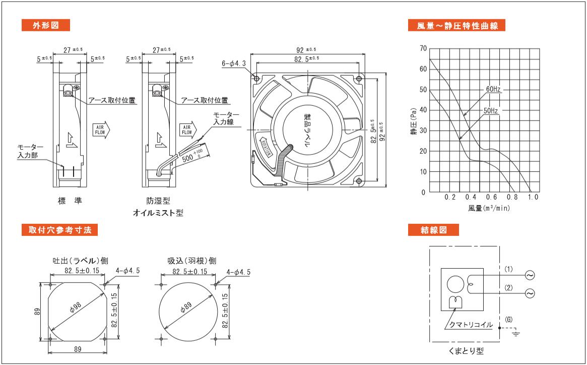 HS3901シリーズ図面