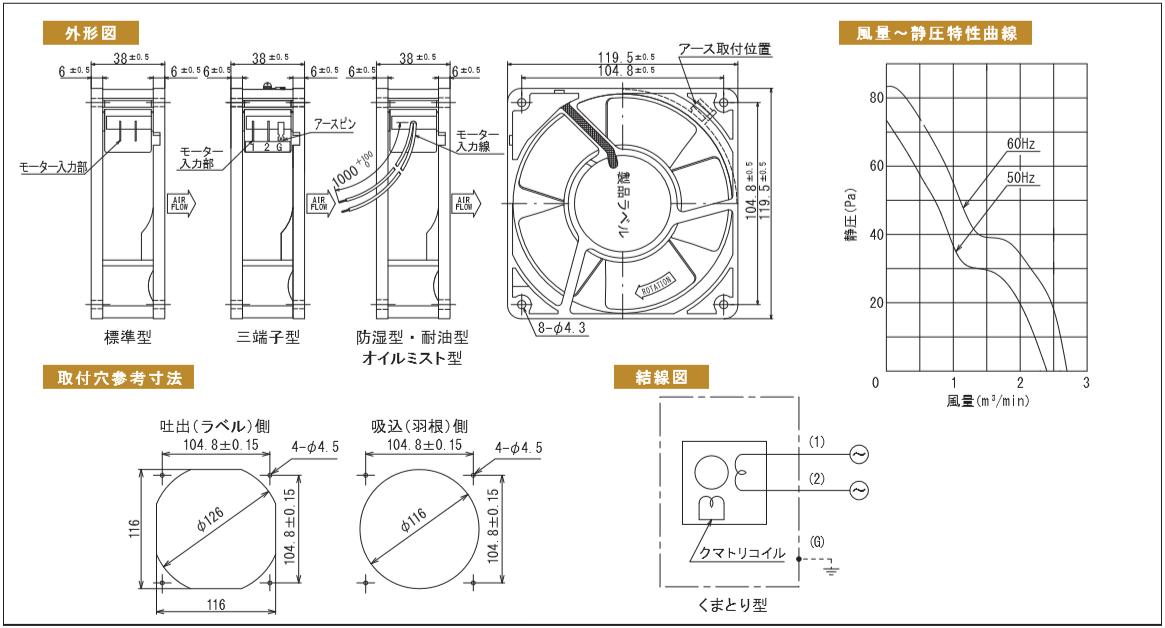 HS4506シリーズ図面