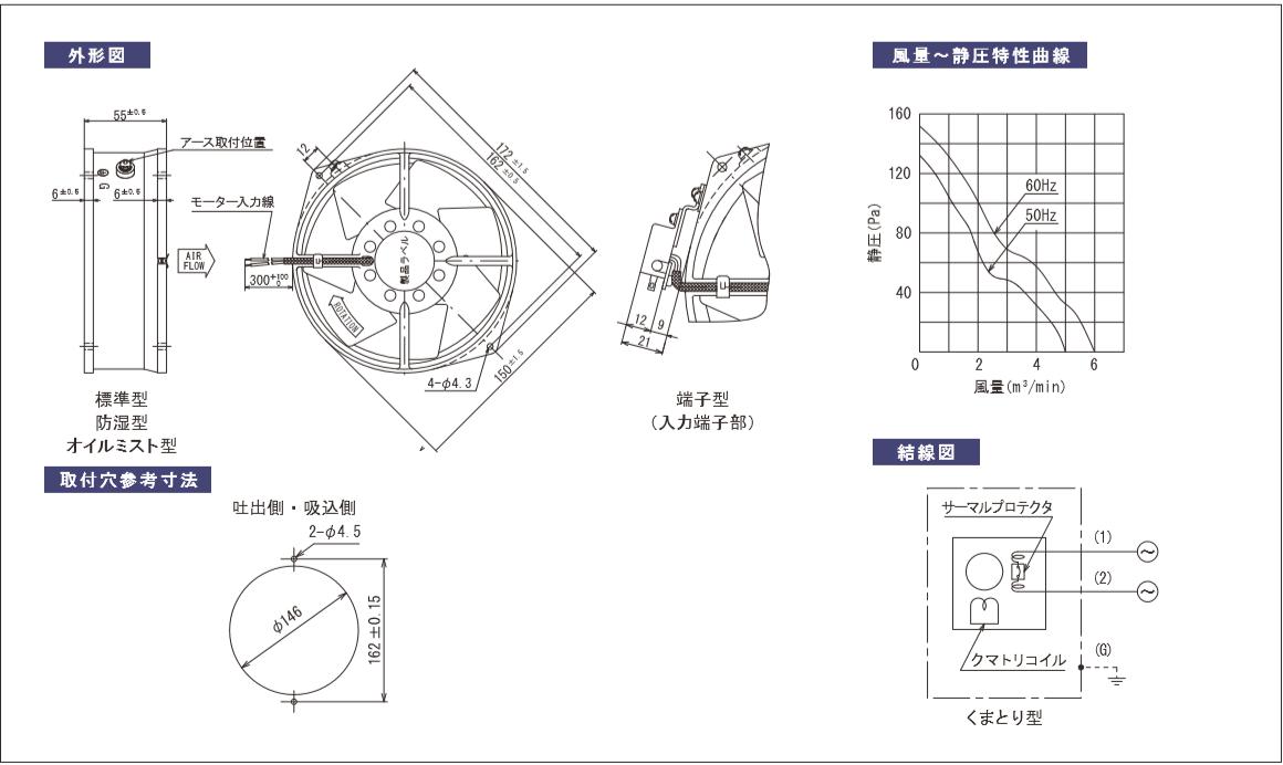 S7506X-TPシリーズ図面
