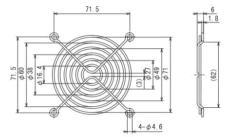 フィンガーガード 型式:IG-080