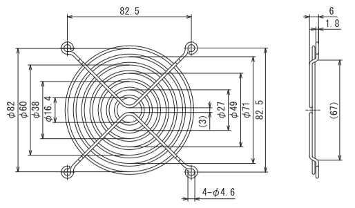 フィンガーガード 型式:IG-092