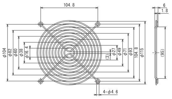 フィンガーガード 型式:IG-120
