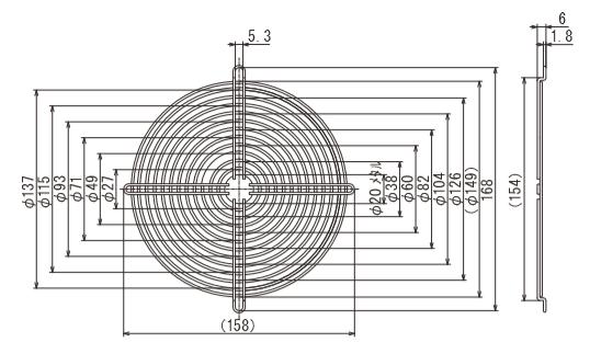 フィンガーガード 型式:IG-150-1